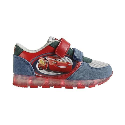 Zapatillas deportivas con luz Cars- Talla 27: Amazon.es: Zapatos y complementos