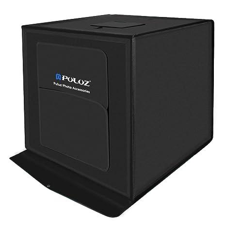 Caja de luz LED PULUZ 60 * 60 cm 60 W Caja de luz de fotografía