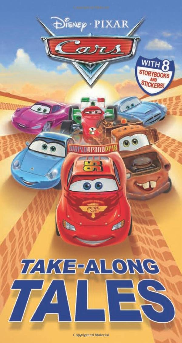 Cars Take Along Tales Storybooks Stickers product image