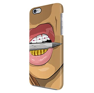 Asap Rocky Goldie Gold Grills Trill Shit Iphone 6 6s Hard Plastic