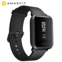 Amazfit Bip Orologio Smartwatch Android iOS Unisex Smart Watch Fitness Smart Watch with GPS, Real-time Heart Rate, Touch Screen, Waterproof Sport Fitness and Sleep Tracker, Barometer, Geomagnetic Sensor, Notification