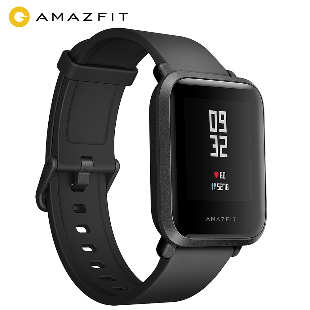 Amazfit Bip Smartwatch Huami Lite Youth GPS Smart Orologio Sportivo in Tempo Reale Heart Rate Monitor IP68 Impermeabile Fitness Tracker Barometro- Versione Inglese App Italiano product image