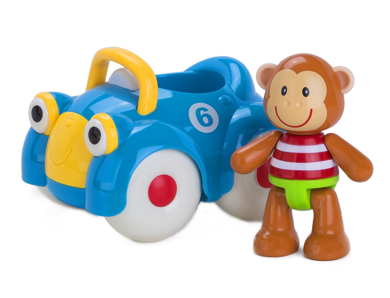 Amazon.com: Early Learning Centre Toybox Monty Monkey and His Motor ...