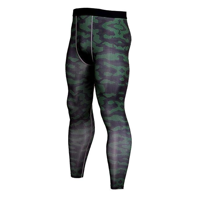 Laufstrumpfhosen Camouflage Kompression Hosen Laufhose Männer Fußball Training Hosen Fitness Sport Leggings Männer Gym Jogging Hosen Sportswear Sport & Unterhaltung