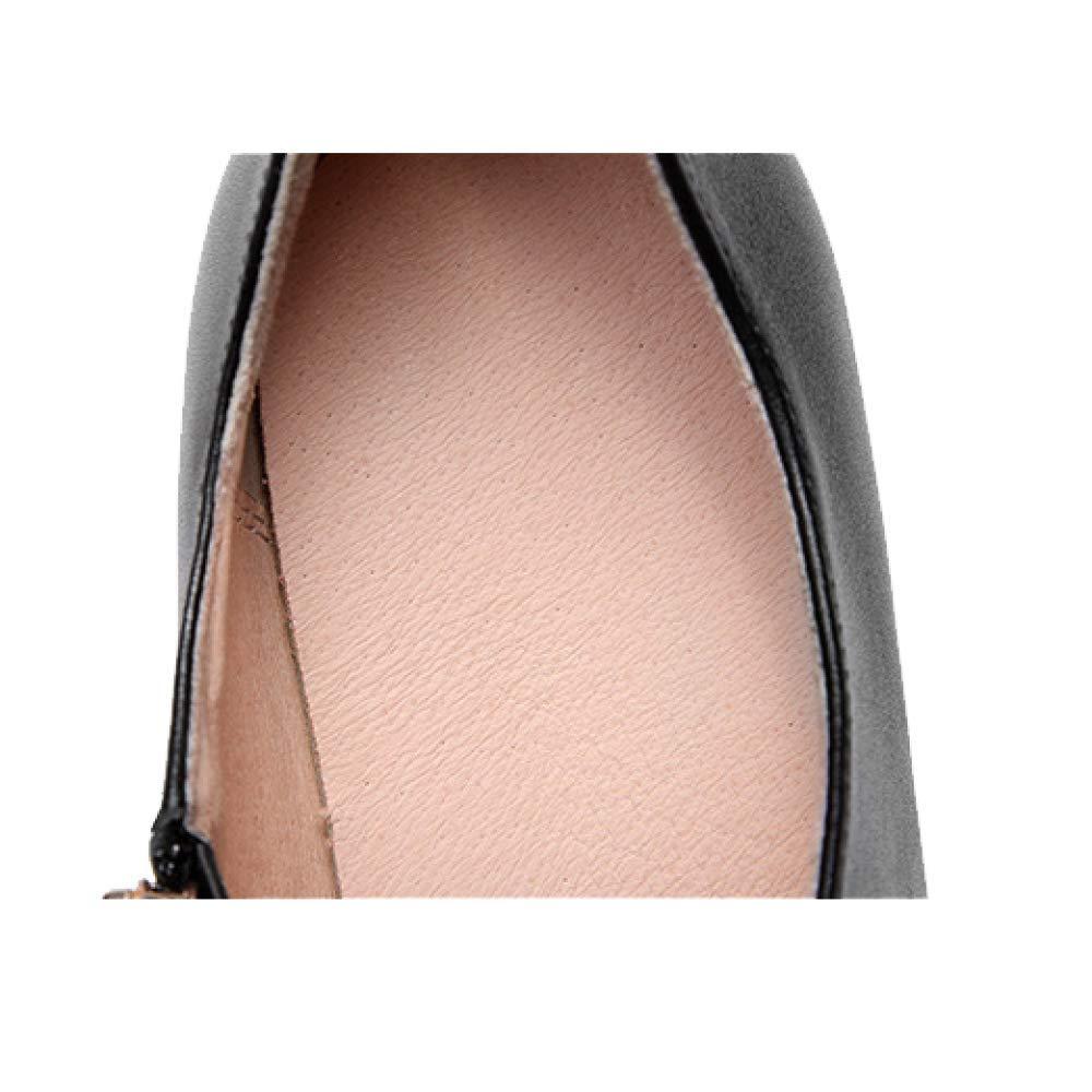 fb3883f2a541 ... élégant ZPEDY Chaussures pour Femmes, Pointues, Hauts Talons, Fermeture  éclair, élégant, ...