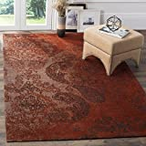 Safavieh Classic Vintage Collection CLV222A Rust and Brown Area Rug (5′ x 8′) Review