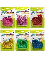Lotoquine – 100 Lotto-Pionen, magnetisch, willekeurige kleurkeuze