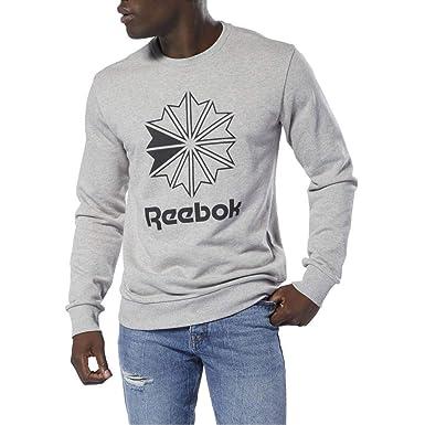 4c0622c1112f Reebok AC Ft Big Starcrest Sweat Homme Gris  Amazon.fr  Vêtements et ...