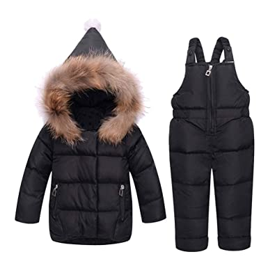 f407dd928 Amazon.com  M A Baby Girls Boys Winter Hooded Down Coat Puffer ...