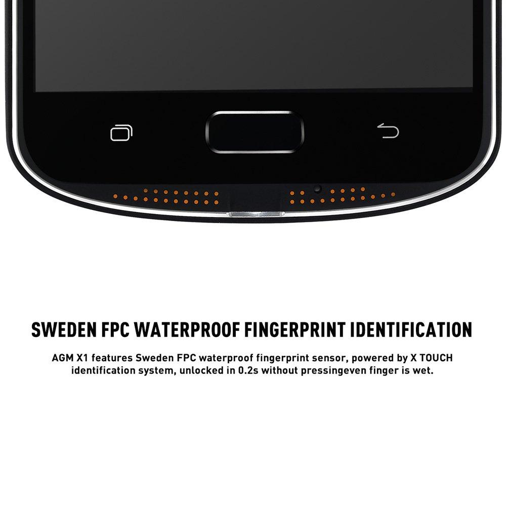 AGM X1 Tri-proof 4G Smartphone 5.5 pulgadas FHD Super AMOLED ...