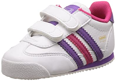 adidas Originals Dragon Cf I, Baskets mode bébé fille Blanc (Running White