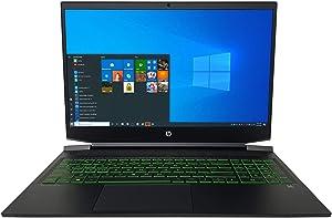 "HP Pavilion 16.1"" Full HD (1920x1080) Gaming Laptop - 10th Gen Intel Core i7-10750H 6-Core up to 5.00 GHz CPU, 32GB DDR4 RAM, 2TB Solid State Drive, NVIDIA GeForce GTX 1660Ti Max-Q, Windows 10 Pro"