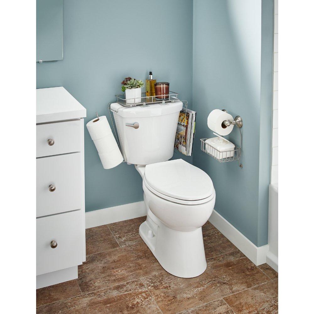 Amazon.com: Franklin Brass 193154-FN Over the Toilet Tank Toilet ...