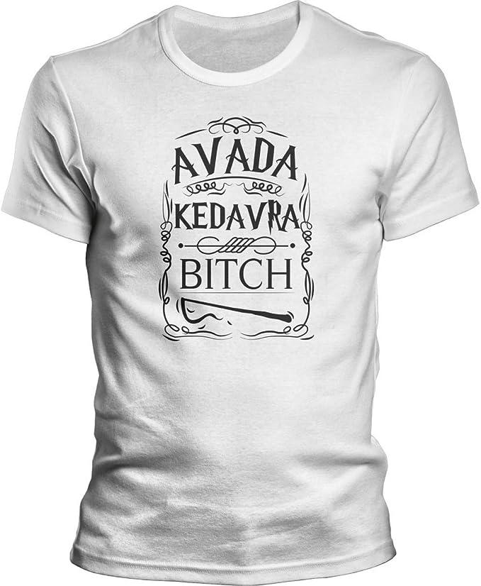 DragonHive Camiseta para hombre Harry Potter Avada Kedavra ...