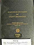 img - for Symposium on Paint and Paint Materials book / textbook / text book
