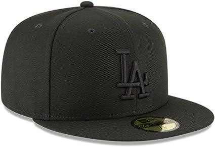 White All Sizes MLB New Era Fitted NWT New Era Cap 59FIFTY LA DODGERS Black