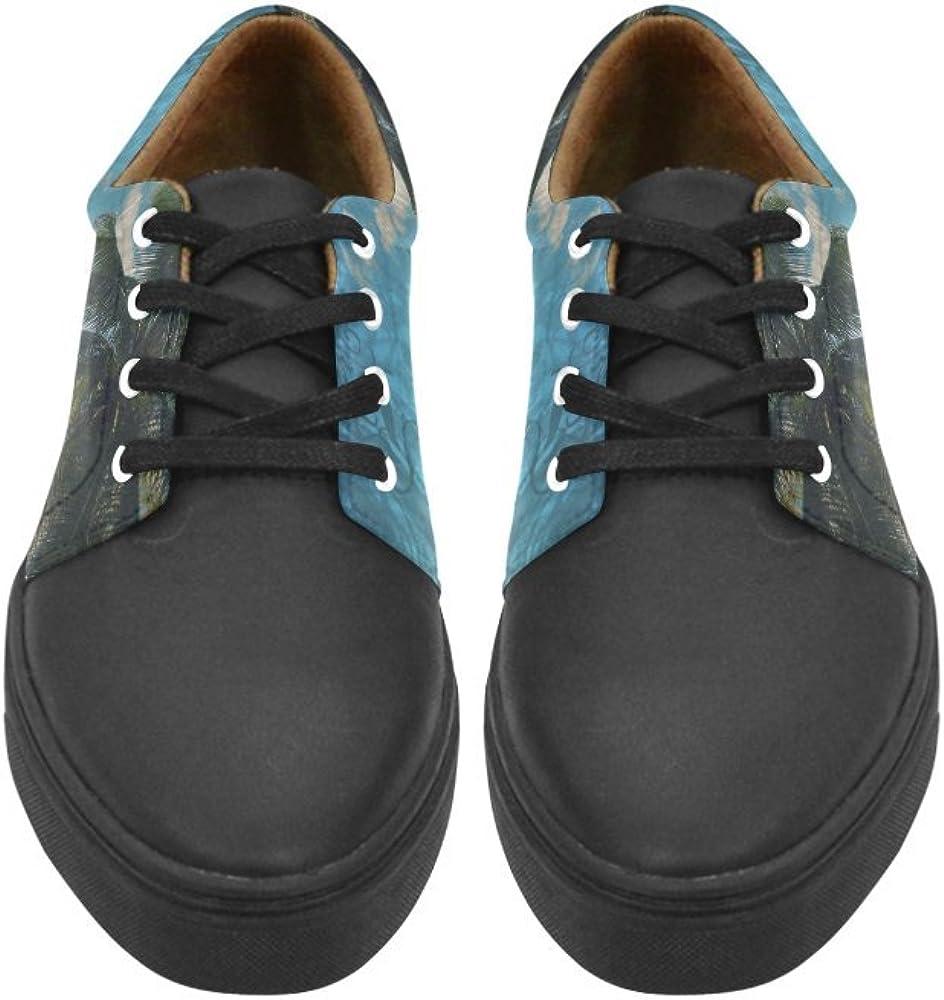 Lace Up Womens Shoes Caribbean Blue