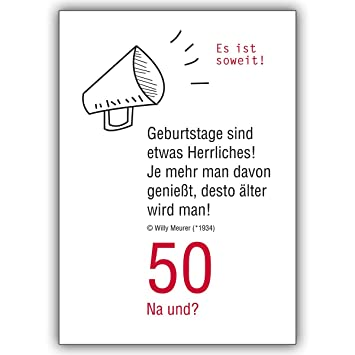 Discount Greeting Cards 50 Na Und Funny Birthday Card Its So 16