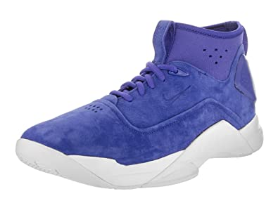 364d58875d1 Image Unavailable. Image not available for. Color  Nike Men s Hyperdunk Low  Lux Blue Suede Basketball Shoes 13