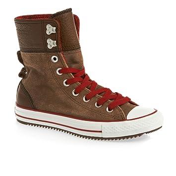 Converse All Star Elsie Roldown Leather Sneaker Wms