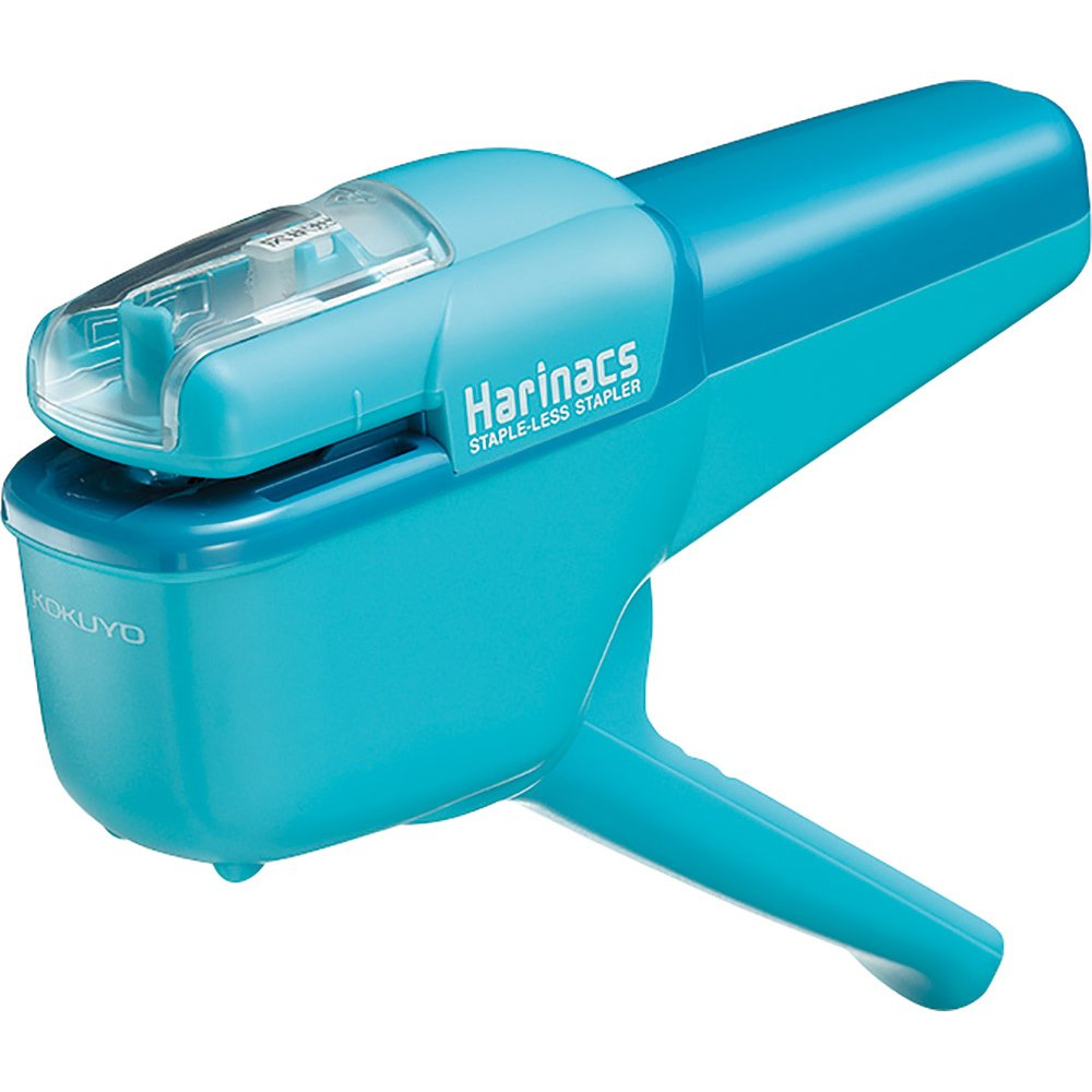 Kokuyo Harinacs Stapleless Stapler bindable 10sheets Light Blue SLN-MSH110LB (Japan Import) OfficeCenter