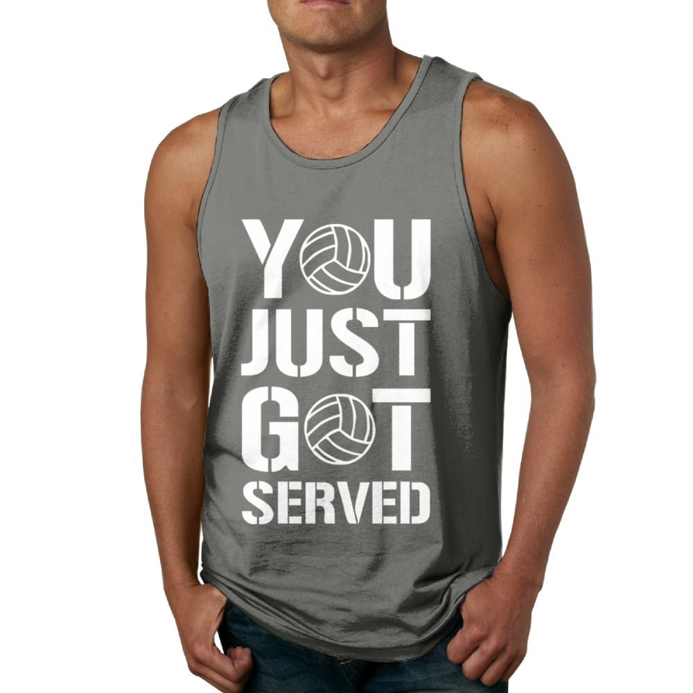 Believe Ddspp You Just Got Servedd Volleyball Male Summer T Shirts Tank Tops