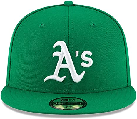 New Era 59Fifty Hat Oakland Athletics Alternate Green Fitted Cap 70376388
