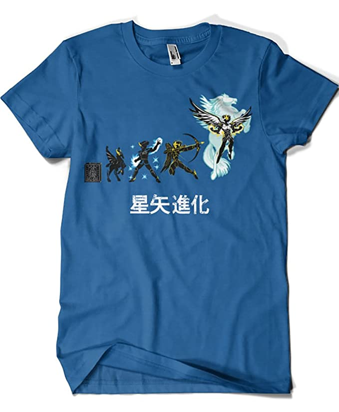 Saint Seiya camiseta evolución