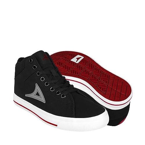 bd5a8156bf5de PIRMA Zapatos ATLETICOS Y URBANOS 422 22-24 Textil Negro  Amazon.com ...