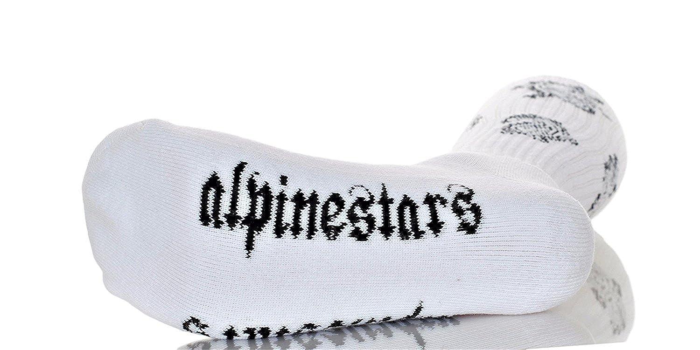 Alpinestars Mens OG Cali Cotton Athletic Socks White One Size
