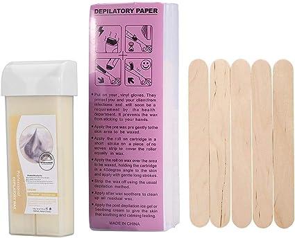Kit de crema depilatoria para cera, juego de cera para depilación ...