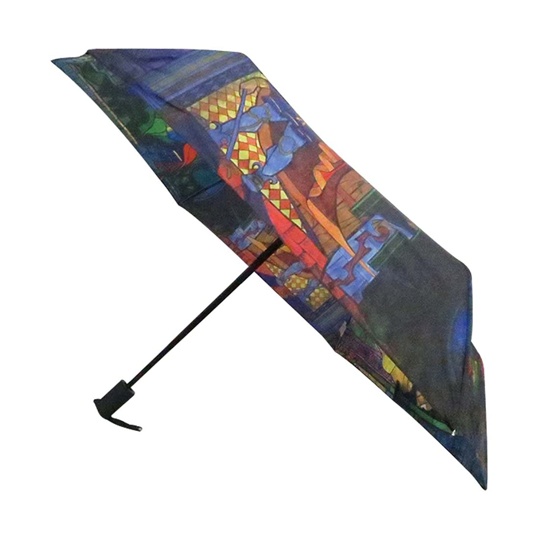 Amazon.com | Disney Beauty and The Beast Umbrella easy Push Button ...