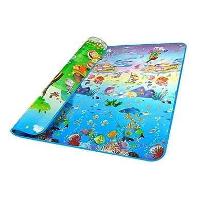 cravog tapis de jeux bb motif ocan et zoo 2 x 18 m jeu - Tapis De Jeu Bebe 1 An