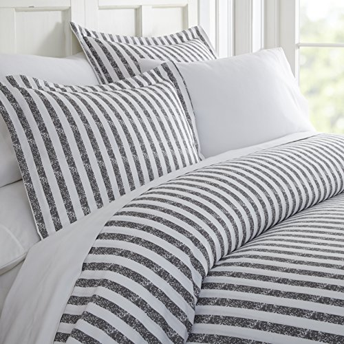 Simply Soft Ultra Soft Rugged Stripes Patterned 3 Piece Duve