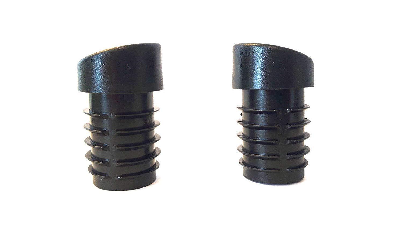 per tubi tondi con spessore della parete 1,5-2 mm inclinati 4 piedini per sedia//protettori del pavimento