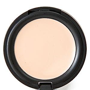 Shimarz Concealer Cream Full Coverage Natural, Organic, Gluten Free, Vegan Makeup Best For Under Eye Dark Circles, Celiac, Sensitive Skin, Blemishes, Acne, Allergies, Rosacea On Face - Pure