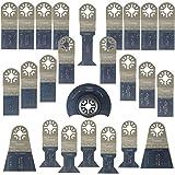25 x SabreCut PRK25A Premium OMT Mix Blades for Bosch, Draper Redline, Fein MultiMaster, Makita, Milwaukee, Parkside, Craftsmen Nextec, Einhell, Ergotools, Workzone, Hitachi Multi Tool Accessories