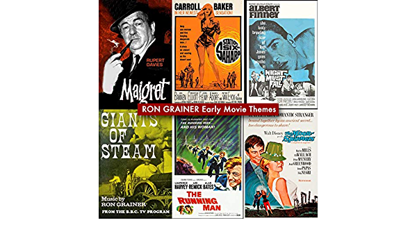 Best RON GRAINER Early Movie Themes de Ron Grainer, The ...