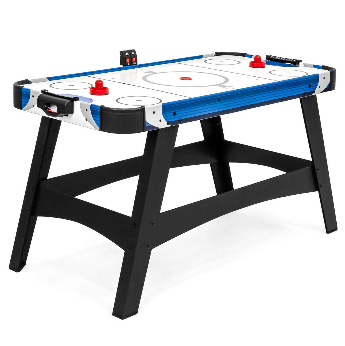 54in Air Powered Hockey Table w/ 2 Puck, 2 Paddles, LED Score Board, Best Children's Toys 2019