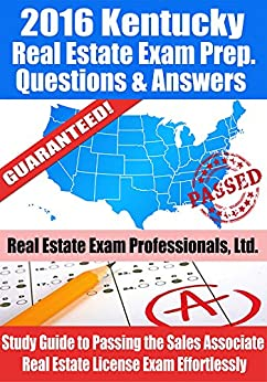 California Real Estate Salesperson Exam: Study Guide ...