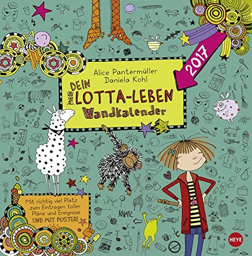 Lotta-Leben Broschurkalender - Kalender 2017