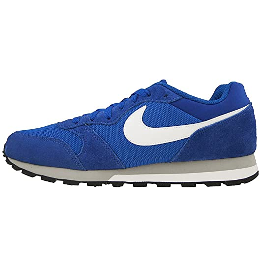 Nike Schuhe MD Runner 2 Midnight Navy White Wolf Grey