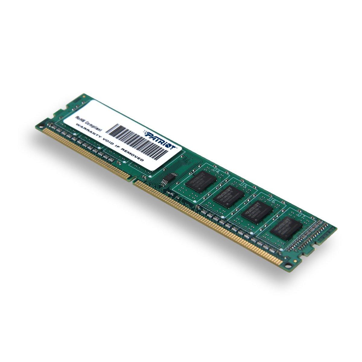 Patriot Signature 4 GB PC3-10600 (1333 MHz) DDR3 Desktop Memory PSD34G13332 by Patriot (Image #1)