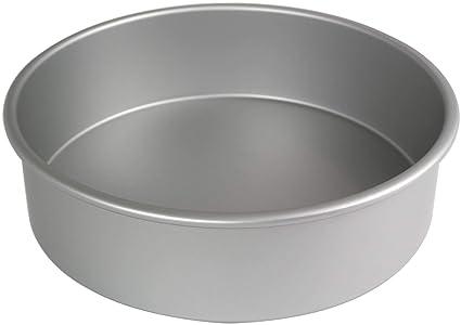 PME Molde para Pastel Redondo de Aluminio Anodizado Profundidad de 12 x 4-Pulgadas