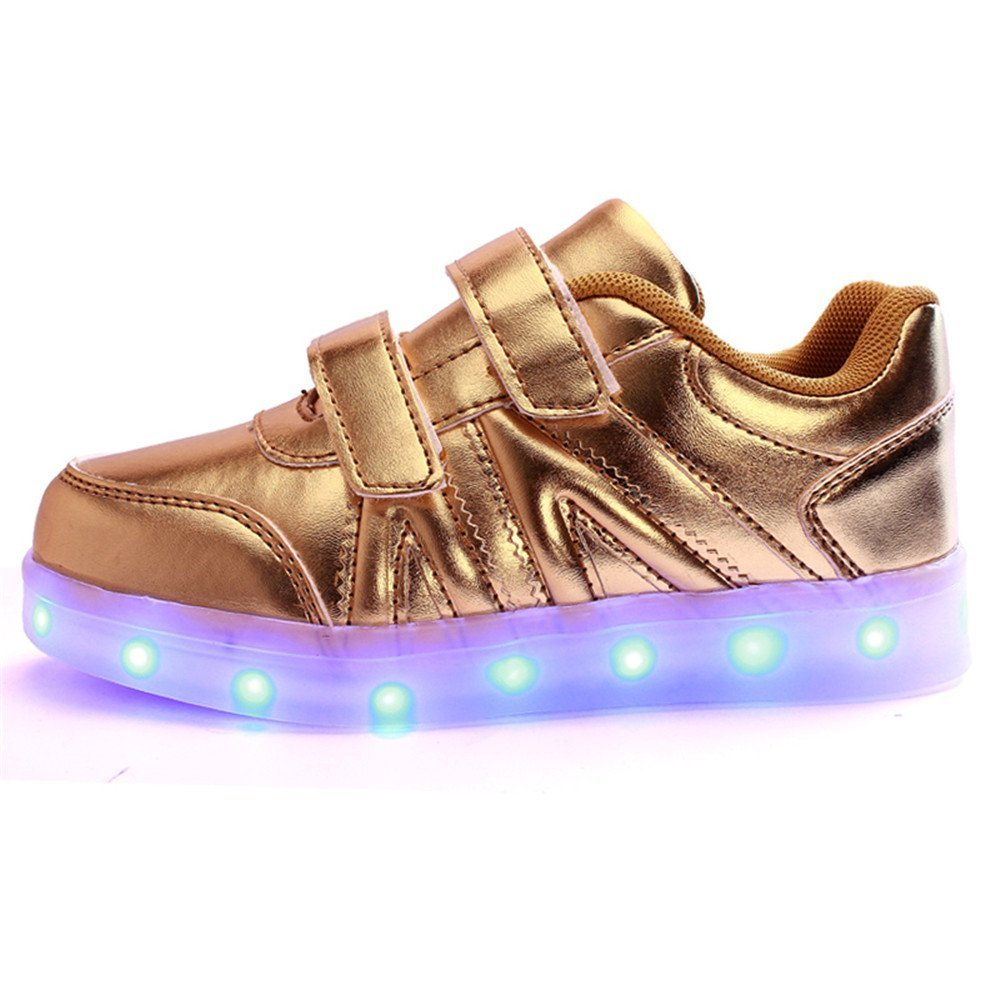 FG21ds21g New Children LED Glowing Sneakers LED Luminous Shoes for Boys Girls USB Charging Shoes