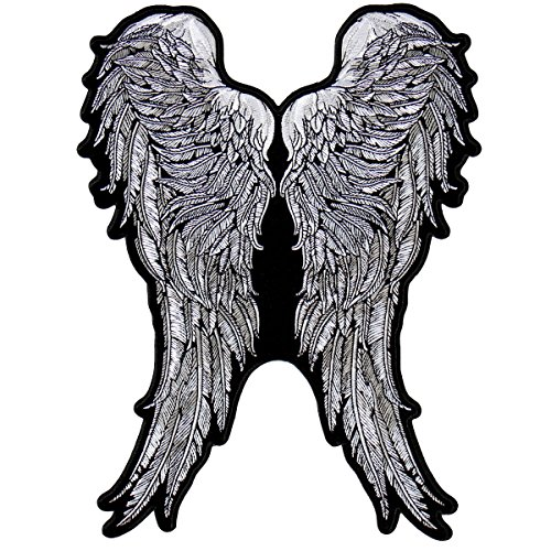 Daryl Dixon Iron on embroidered Wing Vest patch - By Patch Squad ()