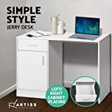 Artiss Office Computer Desk Wooden Home PC Gaming Study Table White