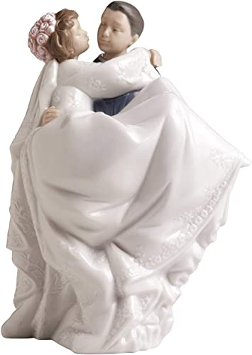 NAO The Perfect Day. Porcelain Bride and Groom Wedding Figure.