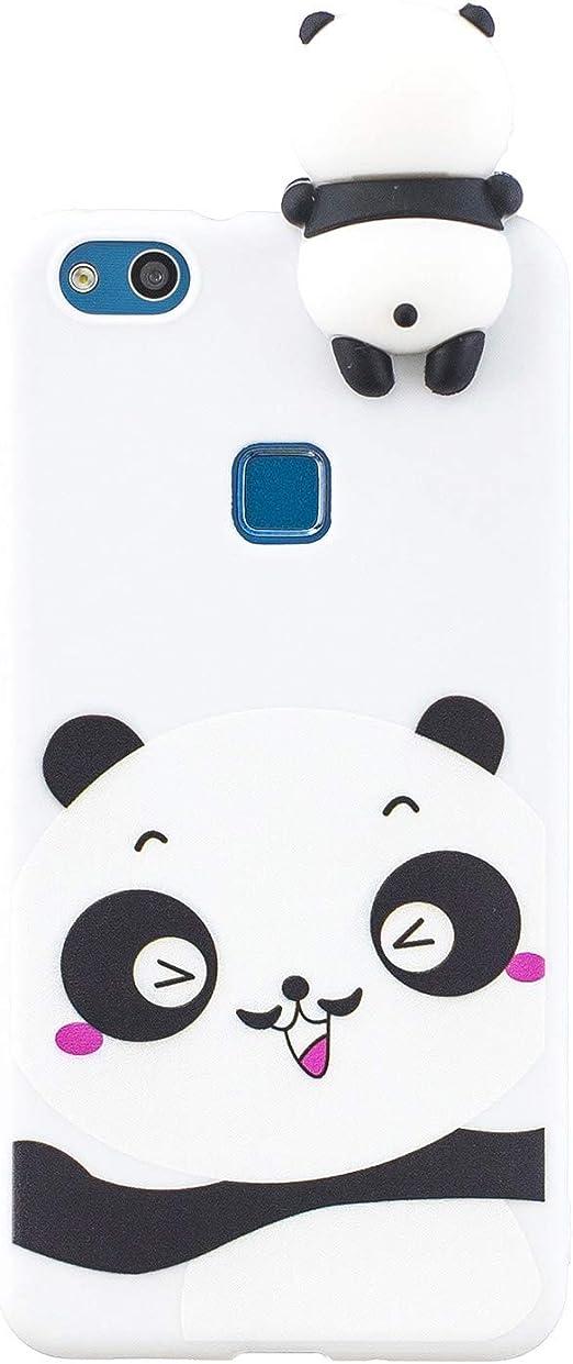 Amazon.com: SHUNDA Huawei P10 Lite Case, Soft Silicone Case 3D ...
