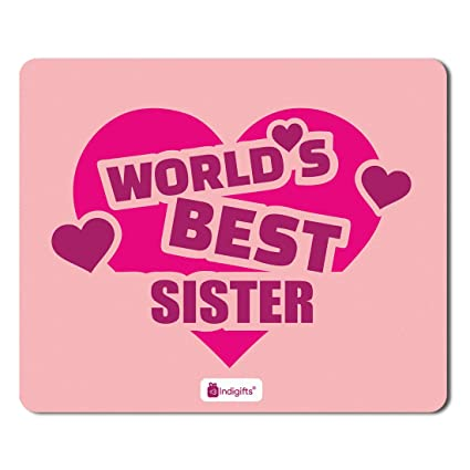 Indigifts Rakshabandhan Gifts For Sister Worlds Best Sis Quote